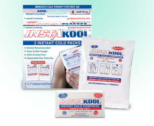 Insta-Kool Instant Cold Packs